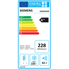 Siemens GS33NVW3P iQ300