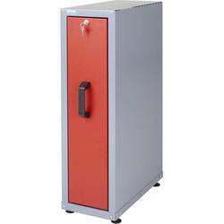 Küpper 12162 Einbauschrank mit Auszug rot (B x H x T) 230 x 760 x 470mm