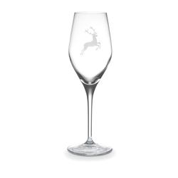 Gmundner Keramik Hirsch Gläser by Spiegelau Sektglas 0,27 L / h: 22 cm Hirsch Gläser by Spiegelau 0696HWAS27