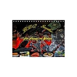 BBQ - Smoker Für Fleisch und Gemüse (Tischkalender 2021 DIN A5 quer) - Kalender