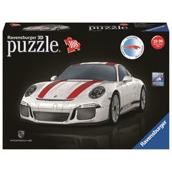 Ravensburger 3D-Puzzle Ravensburger 12528 Porsche 911R,3D Puzzle, 108 Puzzleteile bunt