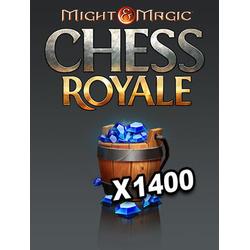 Might&Magic: Chess Royale Ein Eimer voller Kristalle