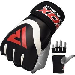 RDX X7 Boxing Gel Innenhandschuhe (Größe: S, Farbe: Rot)