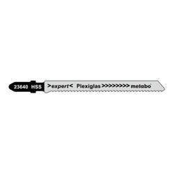 Metabo Stichsägeblätter Plexiglas Serie expert 74/ 2,0 mm HSS