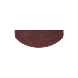 Stufenmatte Athen, Kubus, Halbrund, Höhe 4 mm rot Halbrund - 19 cm x 56 cm x 4 mm