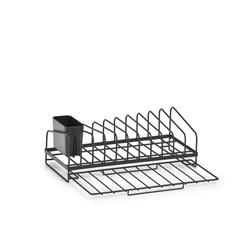 Zeller Present Geschirrständer, Industrial Design, Metall