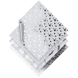 VBS Kraftpapier Faltpapier Silver Foil, 20 cm x 20 cm