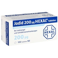 Hexal JODID 200 HEXAL Tabletten