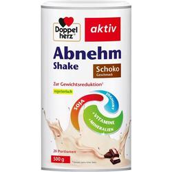 DOPPELHERZ Abnehm Shake Schoko Pulver 500 g