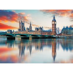 Papermoon Fototapete Big Ben London, glatt 3,5 m x 2,6 m