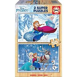 Holzpuzzle Frozen (Kinderpuzzle)