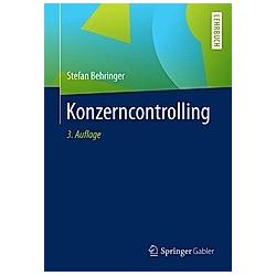 Konzerncontrolling. Stefan Behringer  - Buch