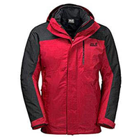 Jack Wolfskin Viking Sky Jacke M red lacquer M