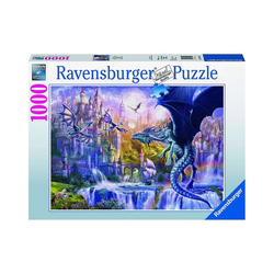 Ravensburger Puzzle Puzzle Drachenschloss, 1.000 Teile, Puzzleteile