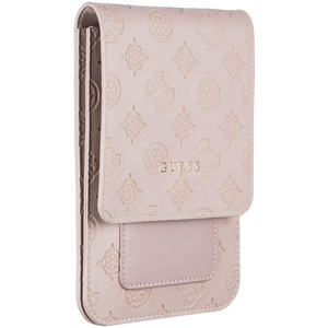 Guess 4G PU Peony Wallet Universal - Light pink