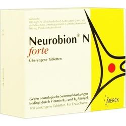 NEUROBION N forte überzogene Tabletten 100 St