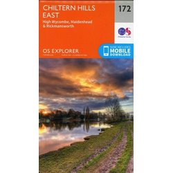 Chiltern Hills East 1 : 25 000
