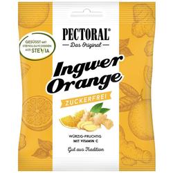 PECTORAL Ingwer Orange Bonbons zuckerfrei 60 g