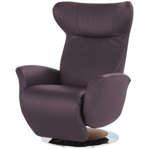 JOOP! Relaxsessel aus Leder  Lounge 8140 ¦ lila/violett ¦ Maße (cm): B: 85 H: 109 T: 88 » Möbel Kraft