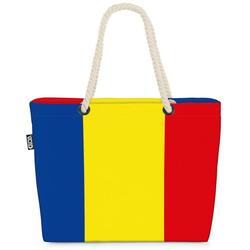 VOID Strandtasche (1-tlg), Rumänien Flagge EM Länderflagge Fahne