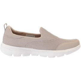 SKECHERS Gowalk Evolution Ultra - Reach beige/ white, 37