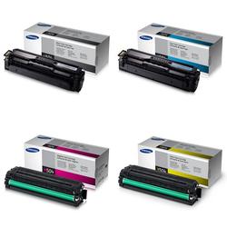Samsung Tonerset CMYK für CLX-4195 CLP-415, 1x 2.500 und 3x 1.800 Seiten - Samsung Parter
