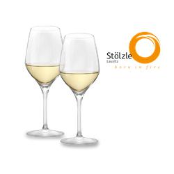 Stölzle Weißweinglas Exquisit 2er Set