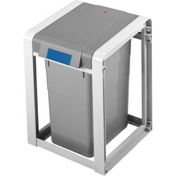 Hailo Mülltrennsystem ProfiLine Öko L,Basiseinheit,19l grau Mülleimer Küchenhelfer Haushaltswaren