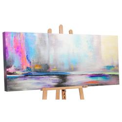 YS-Art Gemälde Nordlicht 038