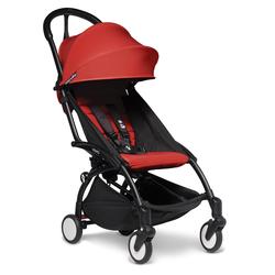 BABYZEN Kinderwagen YOYO2 6+ schwarz rot