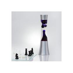 Licht-Erlebnisse Lavalampe SANDRO Lavalampe Lila feminin retro 39cm hoch Tischlampe Wohnzimmer Lampe