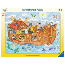 Ravensburger Rahmenpuzzle Die Große Arche Noah - Rahmenpuzzle, 48 Puzzleteile bunt