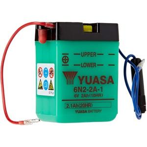 YUASA BATTERY 6N2-2A-1 Batterie (Preis inkl. EUR 7,50 Pfand)