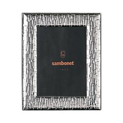 Sambonet Silberrahmen Bilderrahmen Skin versilbert 13 x 18 cm Silberrahmen 59660L11