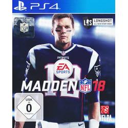 Madden NFL 18 PS4 USK: 0