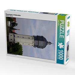 Wasserturm in Siebenlehn Lege-Größe 48 x 64 cm Foto-Puzzle Bild von wkbilder Puzzle