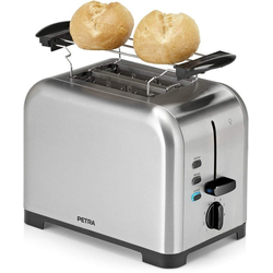 Petra Toaster TA 54.35 mit Brötchen-Aufsatz, 850 W