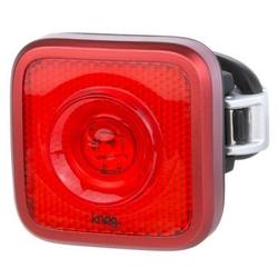 Knog Blinder MOB Fahrradlampe, StVZO, rote LED, red/black