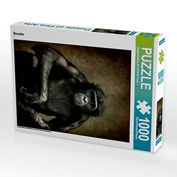 Bonobo Lege-Größe 48 x 64 cm Foto-Puzzle Bild von Angela Dölling, AD DESIGN Photo + PhotoArt Puzzle
