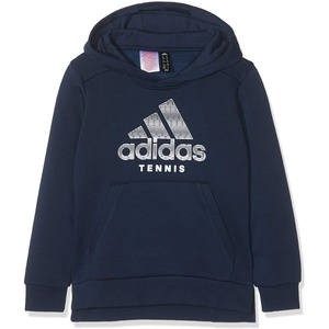 adidas K Club Sweatshirt, Unisex, für Kinder, Unisex Kinder, Sweatshirt, DU6674_116, blau (Maruni / weiß), 116