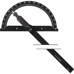 Winkelmesser Gradbogen-D.80mm Schenkel-L.120mm PROMAT