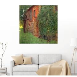 Posterlounge Wandbild, Bauernhaus 50 cm x 50 cm