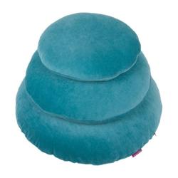 Kissenhülle Rund Aqua 40 cm, Farbenfreunde (1 Stück)