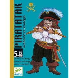 Kartenspiel - Piratatak von Djeco