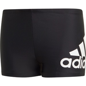 adidas YB Bos Badehose Kinder schwarz/weiß 104 2021 Schwimmslips & -shorts