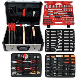 FAMEX Werkzeugset 720-24, (Set, 128-St), im Werkzeugkoffer