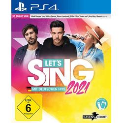 Let's Sing 2021 mit deutschen Hits - PS4