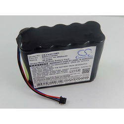 vhbw Akku passend für Fukuda Monitor DS5100 Ersetzt 10TH-2400A-WC1-1, BATT/110354 - Medizin, Patientenmonitor - NiMH, 3800mAh, 12V