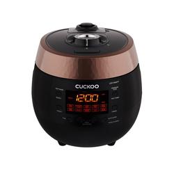 Cuckoo Reiskocher, 890 W, CRP-R0607F Premium Dampfdruck Reiskocher Schnellkochtopf & Schongarer mit programmierbaren Kochfunktionen