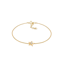 Elli Elli Armband Stern Star Kristalle 925 Silber
